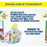 The Best Deals on Dumbo and Spooky Buddies!