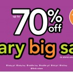 Carter's:  Up to 70% off PLUS 3% cash back!