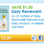 Disney Daily Renewal baby products: $1 each at Walmart!