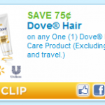 Print & Hold:  Cheap Dove shampoo at CVS starting 10/2