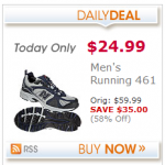 Men's New Balance Running Shoes only $24.99!