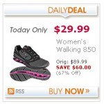 New Balance Women's Walking Shoes:  $29.99 shipped + 4% cash back!