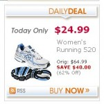 Women's New Balance running Shoes:  $24.99 + 4% cash back! (62% off!)