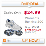 Women's New Balance running shoes only $24.99!