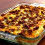 What's for Breakfast?  Sausage breakfast casserole