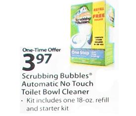Hot Deal Alert Free Scrubbing Bubbles Toilet Starter Kit Walmart
