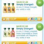 Simply Juice coupon = FREE juice @ Walgreens!