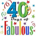 40 Days of Fabulous:  Enter to win a $10 Amazon gift card from me!