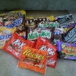 My Halloween Candy Haul:  22 bags for $14.68 OOP!