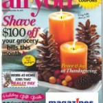 HURRY:  All You Magazine as low as $.32/issue!