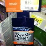 Breathe Right Strips = $.53 moneymaker at Walmart!