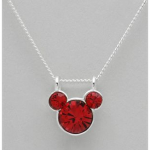 Disney Crystal Sterling Silver Necklace as low as $5 shipped!