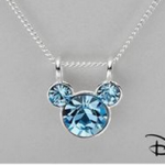 Disney Crystal Sterling Silver Necklace as low as $6 shipped!