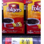 Walmart:  Folgers Instant Single Serve Packets only $.65 each after coupon!