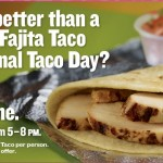 Free Taco Cabana chicken fajita taco (today only!)