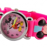 Pink Mickey Mouse watch only $3.54 shipped + cash back!