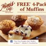 FREEBIE Round-up:  Free Mimi's Cafe muffins, free Kodak photos + more!