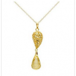 Modnique:  Gold Plated Silver Necklace only $9 shipped!