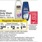 Printable Coupon Alert:  Nivea body wash $.99 after coupon at Walgreens!