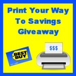 Print Your Way to Savings:  Enter to Win a $120 Best Buy gift card!