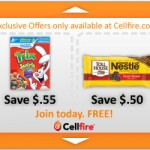 Cellfire:  Get a **FREE** credit up today only! (up to $3)