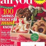 All You Magazine:  2 Subscriptions for just $19.92 ($.83 per issue!)