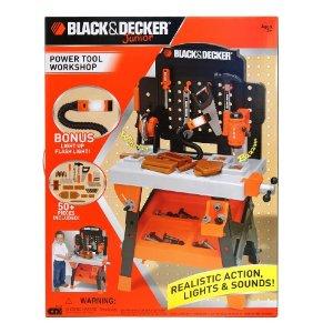 Black Amp Decker Junior Power Tool Workshop 39 99 50 Off
