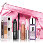 Clinique:  3 free beauty items with ANY purchase!