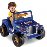 Fisher Price Power Wheels Ride-On Jeep for $99!