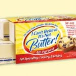 I Can't Believe It's Not Butter Sticks $.25/box at Publix