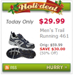 HOT DEAL ALERT:  Men's New Balance Running Shoes only $29.99!