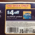 FREEBIE ALERT:  Pepcid AC free after coupon at Dollar General!