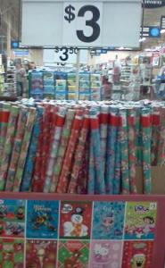 dora or sponge bob christmas wrapping paper only 2 after coupon at walmart - Walmart Christmas Wrapping Paper