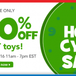 HOT DEAL ALERT:  Toys 'R Us Cyber Sale (ends soon!)