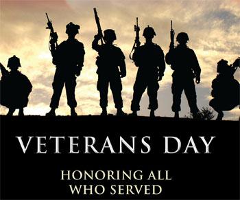 Online Veterans Day Food Delivery Deals