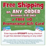 Oriental Trading Company:  Free Shipping on ANY order (ends tonight)