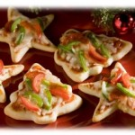 Cooking with Kids Thursday: Christmas Pizza Minis