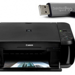 Canon Pixma MP280 All-in-One Photo Printer & Bonus 4GB Flash Drive Value Bundle only $29!