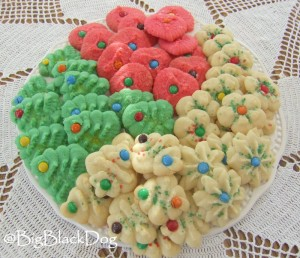 Tasty Treat Tuesday Cream Cheese Christmas Cookies