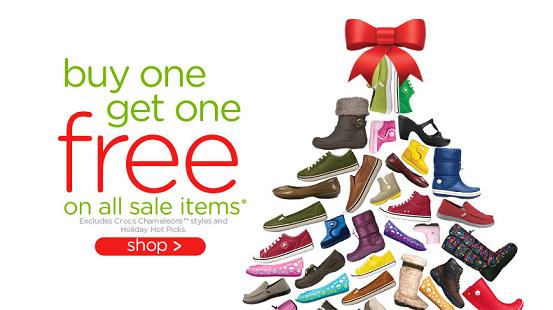 Melissas Bargains » Crocs BOGO free