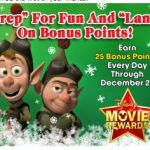 Disney Movie Rewards:  125 free points!