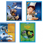 Disney Pixar Blu Ray Bundle:  2 Blu rays for $30!