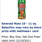 Emerald Nuts:  $1.98 each after coupons at Rite Aid!