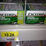 Excedrin Extra Strength only $1.24 after coupon!