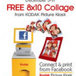 FREEBIE ALERT:  FREE 8X10 photo collage!