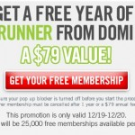 FREEBIE ALERT:  Free year of Shoprunner!