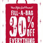 Gymboree:  Fill A Bag Sale (30% off EVERYTHING) + FREE SHIPPING!