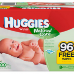 Huggies Natural Care Wipes – $.02 per wipe shipped!
