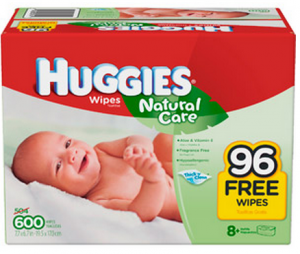 Huggies Natural Care Wipes  Count