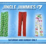 HOT DEAL ALERT:  Jingle Jammies as low a $4.90 each at Old Navy!